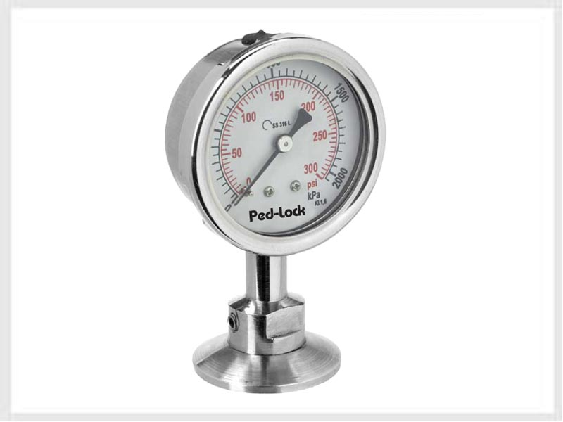 digital pressure and temperature gauge